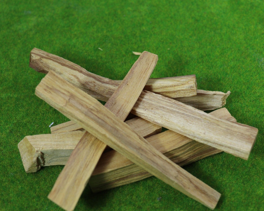 10 Wild Harvested Palo Santo Sticks