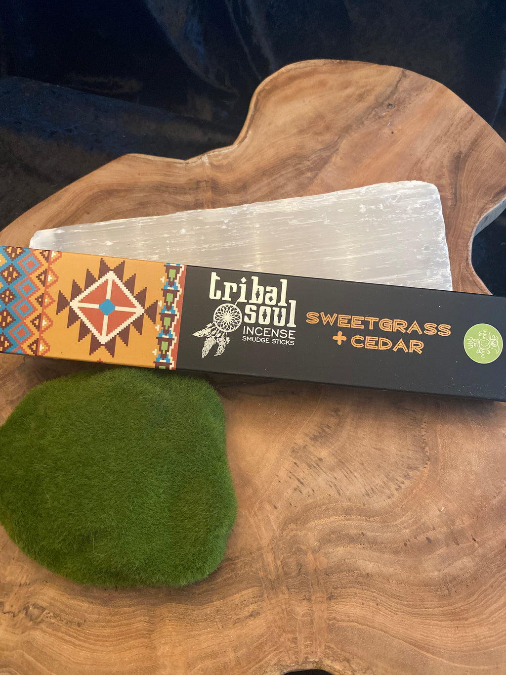 Tribal Soul, Sweetgrass & Cedar Incense