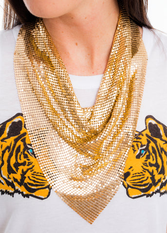 GO BIG HANDKERCHIEF NECKLACE
