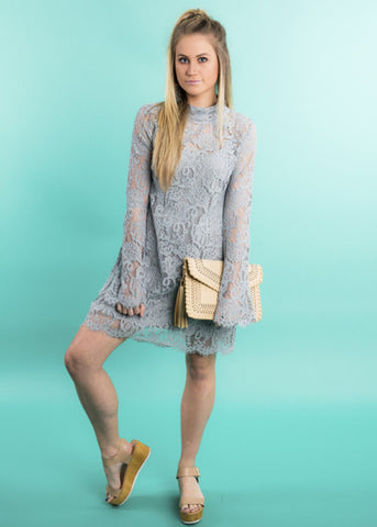TAKE THE STAGE LACE DRESS