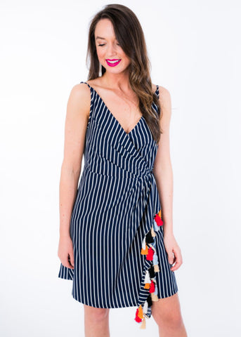 TAKE THE TASSEL PARTY DRESS