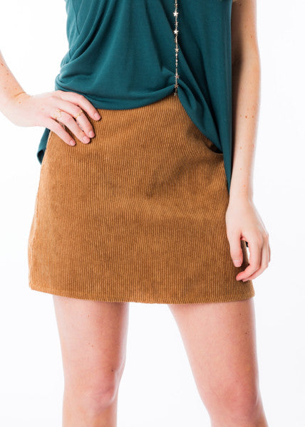 LIFT YOU UP CORD SKIRT