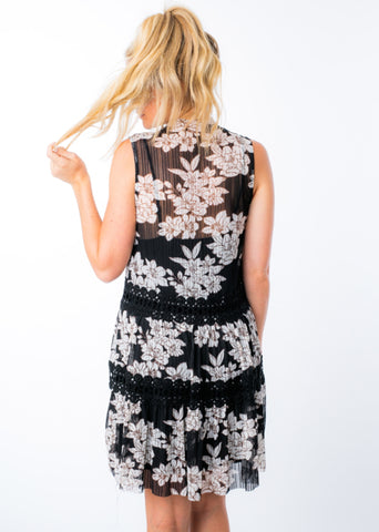 HERE'S TO US FLORAL DRESS
