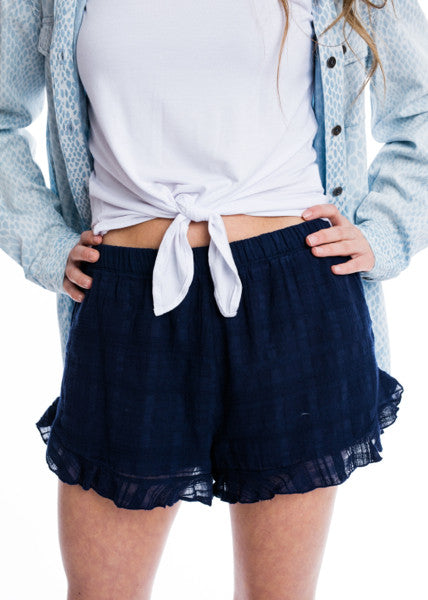 IN WITH BAE SHORTS