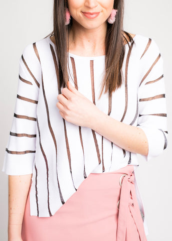 SIMPLE AS STRIPE TOP