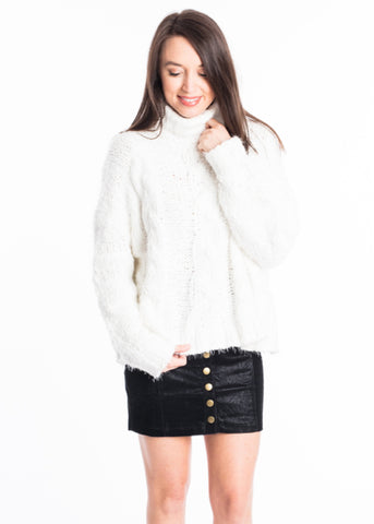 KEEP IT FLUFFY SWEATER