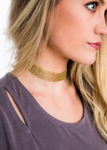 MESHING WAYS CHOKER