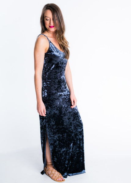 VEER TO VELVET MAXI DRESS