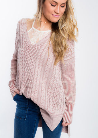 SPRINGTIME SAYINGS SWEATER
