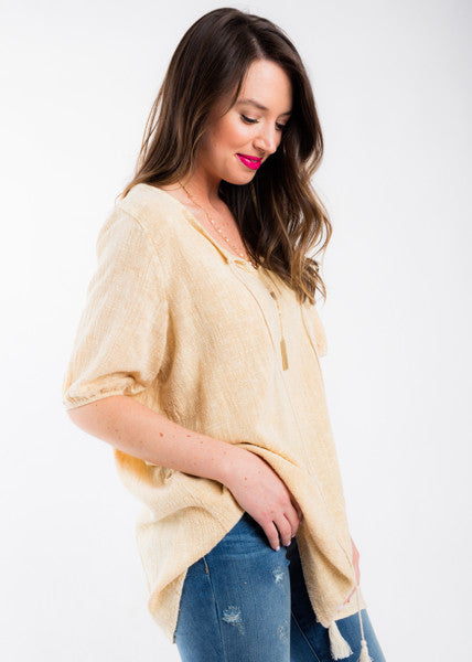 TAKING YOURS TUNIC TOP
