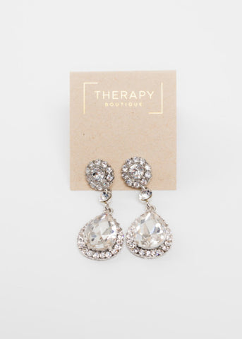 GIVE A GLAM TEAR DROP EARRINGS