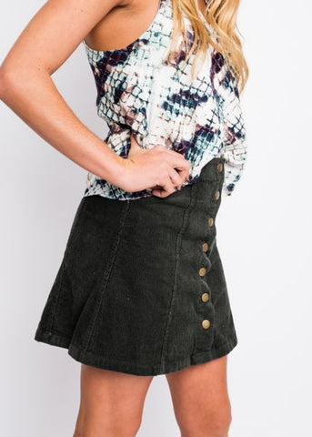 SNAP TO IT SKIRT