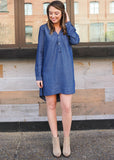 DARLING DENIM DRESS