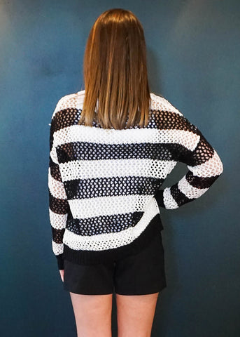 KNITTY GRITTY TOP