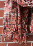 PULL THE PLAID BLANKET SCARF