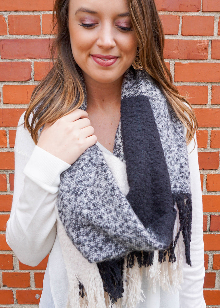 NEED FOR NEUTRALS BLANKET SCARF