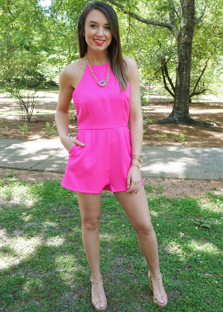 BOLD WITH BOWS ROMPER