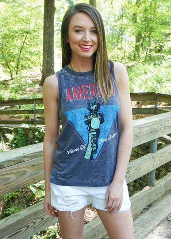 LADY LIBERTY TOP