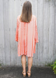 COOL IN CORAL DRESS