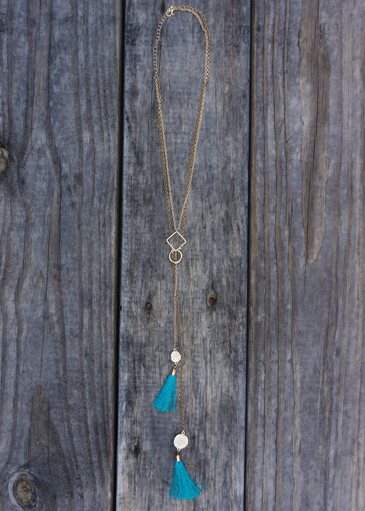 FRIEND OF A FRINGE NECKLACE