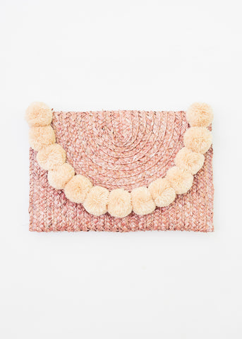 TICKLE MY FANCY POM POM CLUTCH
