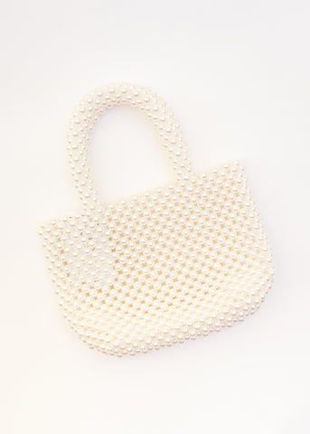 RISE OF RETRO PEARL HANDBAG