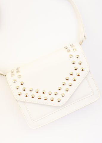 CHIC AND SIMPLE STUDDED CROSSBODY