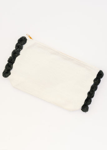 DAY AND NIGHT POM POM POUCH