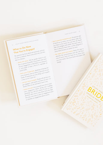 STUFF EVERY BRIDE SHOULD KNOW BOOK