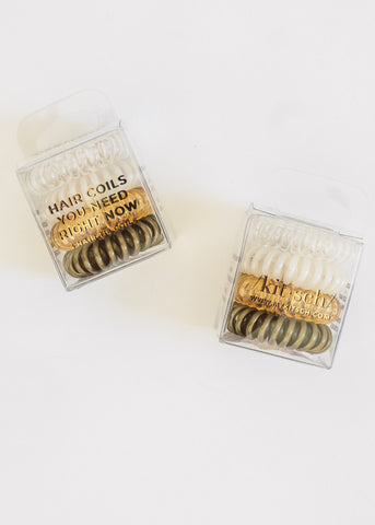4 PACK HAIR COILS - STARGAZER