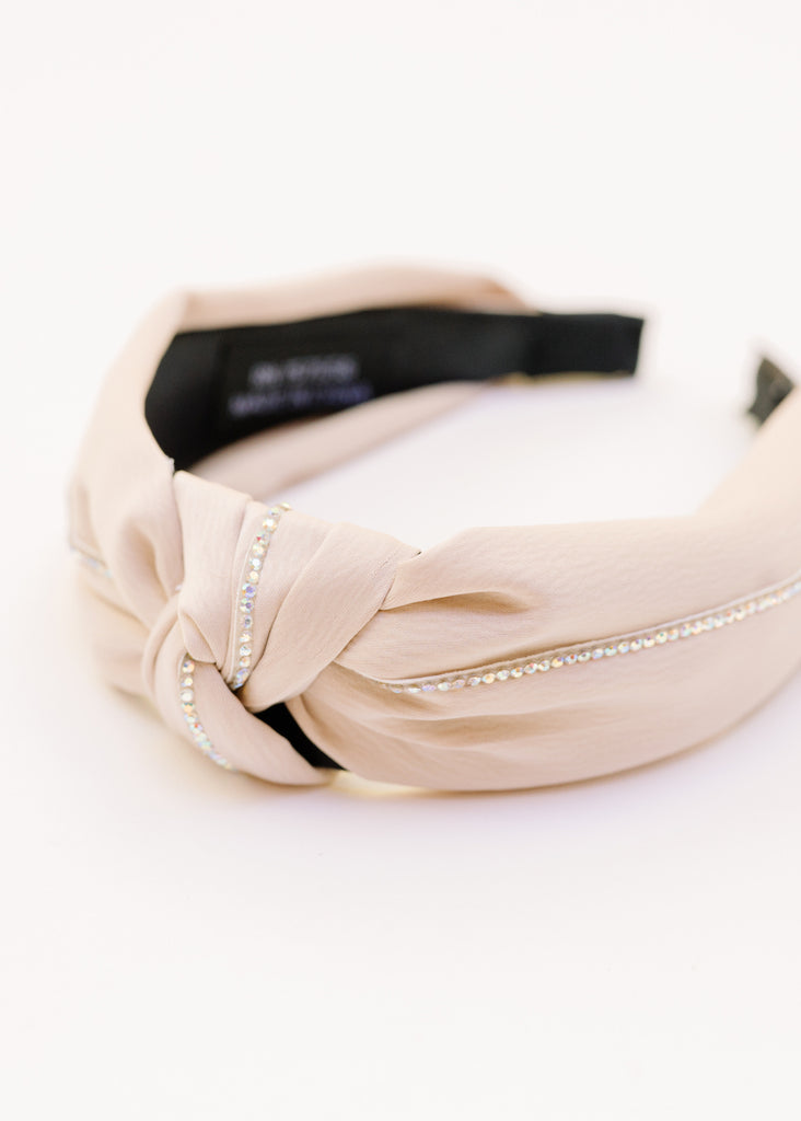SHOWING OUT KNOT RHINESONE HEADBAND