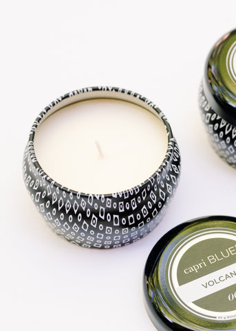 BLACK MINI TIN CANDLE BY CAPRI BLUE