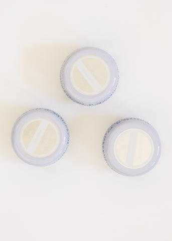 WHITE MINI TIN CANDLE BY CAPRI BLUE