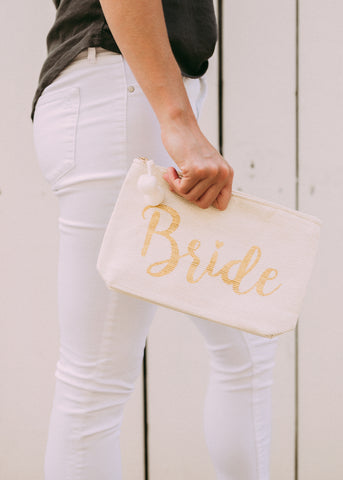GOT IT ALL BRIDE POUCH