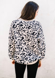 ALL THE TIME LEOPARD SWEATER