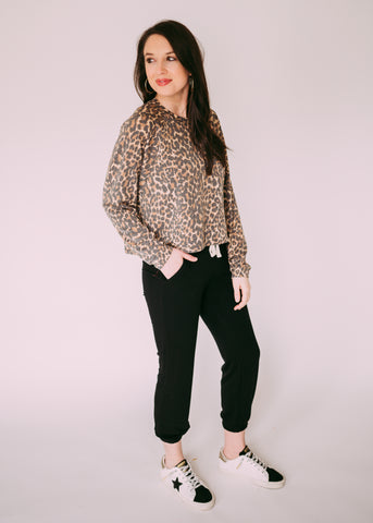NEW DIRECTION LEOPARD TOP