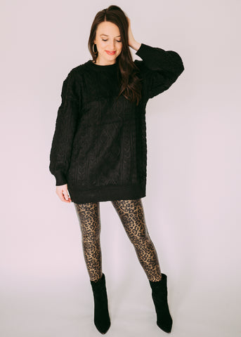 LEOPARD SPANX LEGGINGS