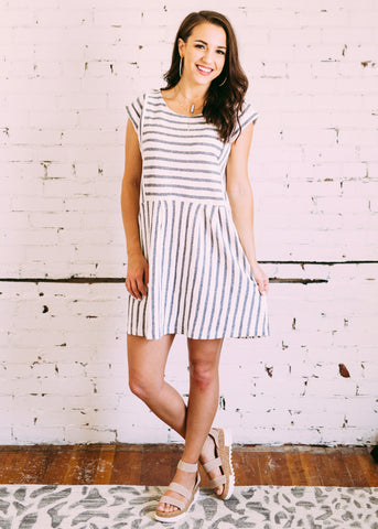 EASY DAYS STRIPE DRESS