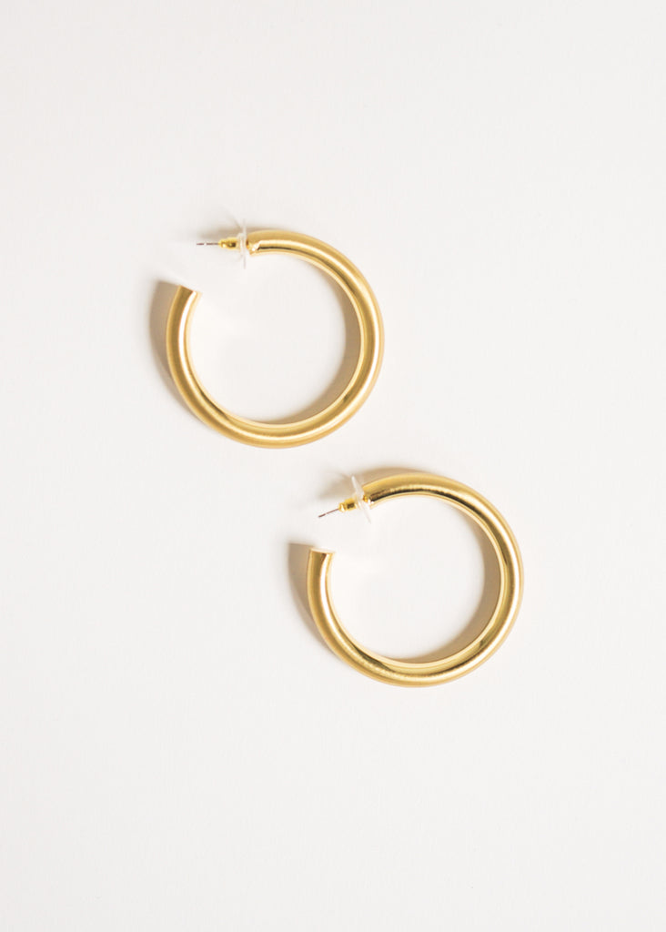 ALL THE THINGS HOOP EARRINGS