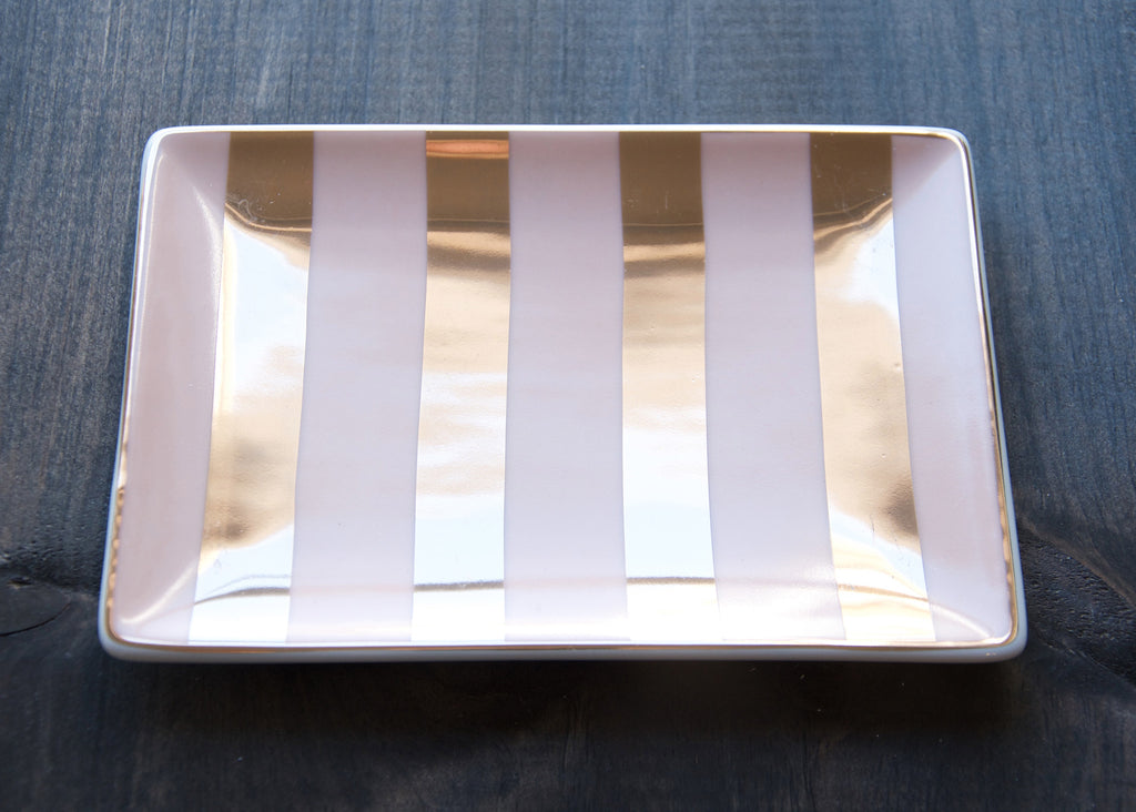 LADIES CHOICE STRIPED TRAY