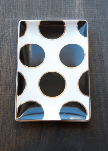 LADIES CHOICE LARGE POLKA DOT TRAY
