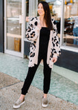 WILD SIDE LEOPARD CARDIGAN