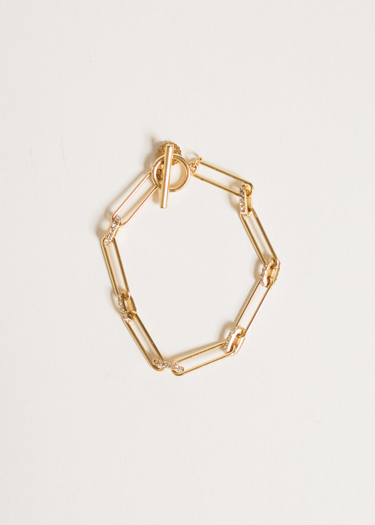 YOU DESERVE IT CHAIN BRACELET