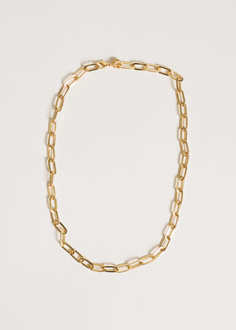 LINKED-IN CHAIN NECKLACE