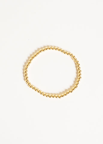 MEET ME OUT GOLD BEADED BRACELET