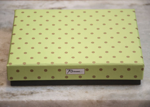 LADIES CHOICE SMALL POLKA DOT TRAY