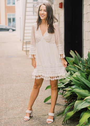 FOREVER MINE FRINGE DRESS