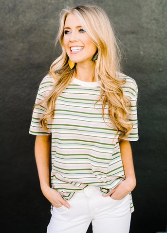 LIKE YOU STRIPE TOP