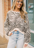 WALK IT OUT TIGER SWEATSHIRT