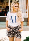 AU TEE BY SCARLET & GOLD